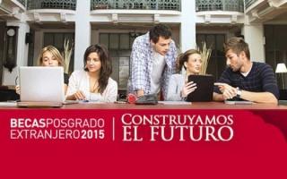 Becas Posgrado en el Extranjero 2015