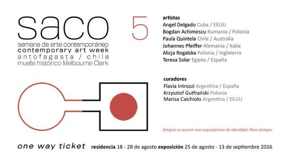 V Semana de Arte Contemporáneo de Antofagasta (SACO5)