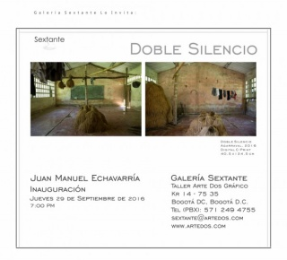Juan Manuel Echavarría, Doble Silencio