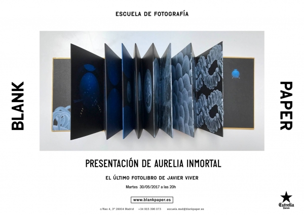 Presentación de Aurelia Immortal de Javier Viver