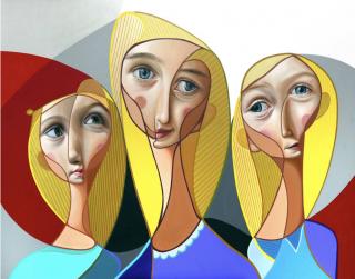 Belin. Tres hermanas. Imagen cortesía Studio Mónica Iglesias