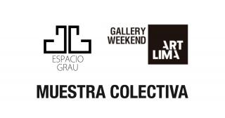 Muestra Colectiva - Inauguración Espacio Grau