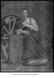 Imagen infrarroja (IR) © 2018 Museo Nacional Thyssen-Bornemisza — Cortesía del museo