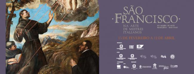 São Francisco - Na arte de mestres italianos