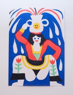 3ttman, collage — Cortesía de Delimbo Gallery