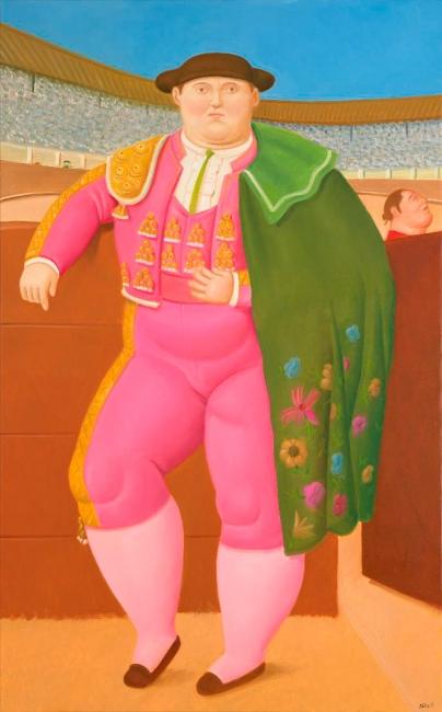 Fernando Botero, Fernando Botero, Eva, 2017. Óleo sobre lienzo, 100 x 156 cm. — Cortesía de la Galería Marlborough. — Cortesía de la Galería Marlborough
