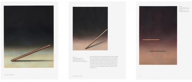 Martí Cormand, Bengala 2, 3 y 4. 2019. Óleo sobre papel con base de acrílico — Cortesía de la galería Espacio Mínimo
