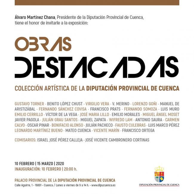 Obras destacadas. Colección artística de la Diputación Provincial de Cuenca