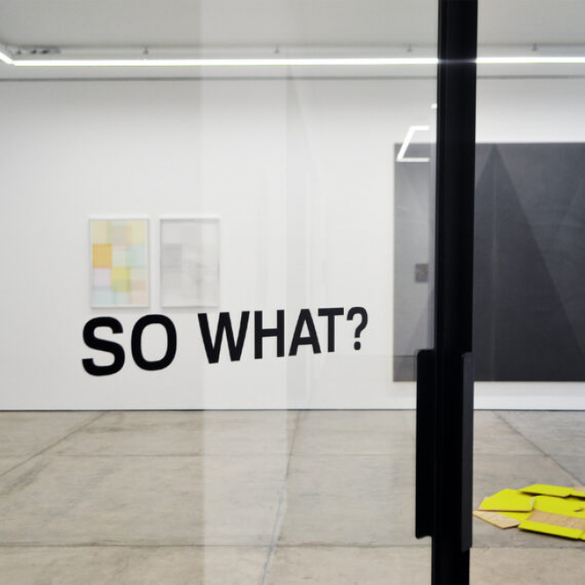So what?, 2020 — Cortesía de arróniz arte contemporáneo