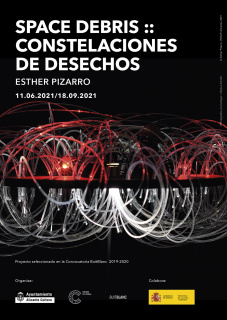 Esther Pizarro. Space Debris :: Constelaciones de desechos
