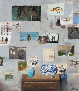 Ignacio Iturria El Willow, 2011. Acrílico sobre lienzo, 80 x 70 cm. Cortesía de la Fundación Iturria Montevideo Uruguay