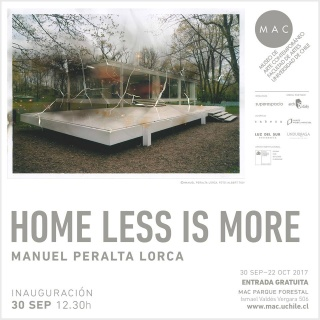 HOME LESS IS MORE
