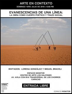 Evanescencias de una línea: la obra como cuerpo poético y trazo social. Imagen cortesía Colección Patricia Phelps de Cisneros