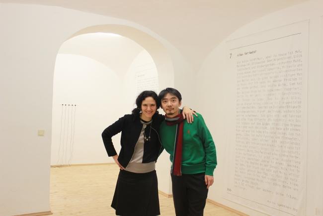 Exhibition Preview, Juliana Herrero with Jianan Qu. Foto ©medospace 2018
