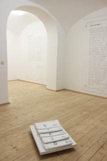 "Juliana Herrero, Exhibition Preview, from EXTIMA ""Extimum"" 2012. Foto ©Michaela Tomaselli"