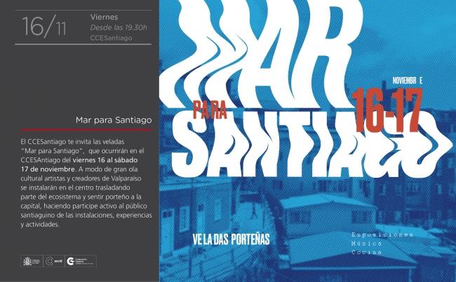 Mar para Santiago