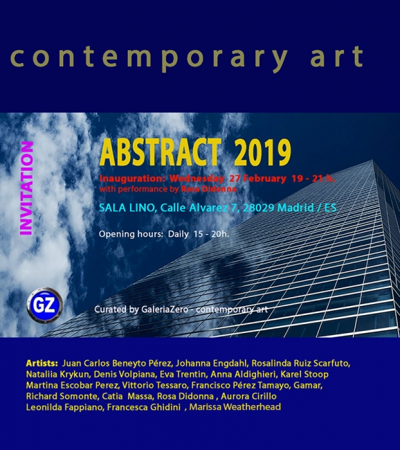 ABSTRACT 2019   - Madrid
