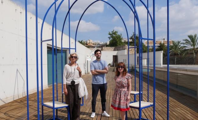 Carme Pinós, Toni Gelabert y Nekane Aramburu — Cortesía de Es Baluard Museu d'Art Modern i Contemporani de Palma