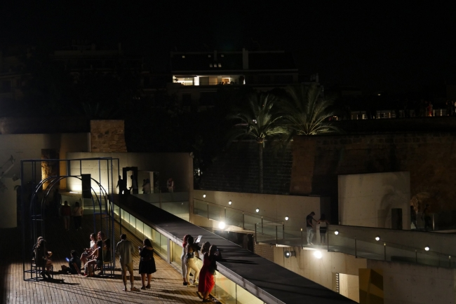 Nit de l'art 2018. Invisible — Cortesía de Es Baluard Museu d'Art Modern i Contemporani de Palma