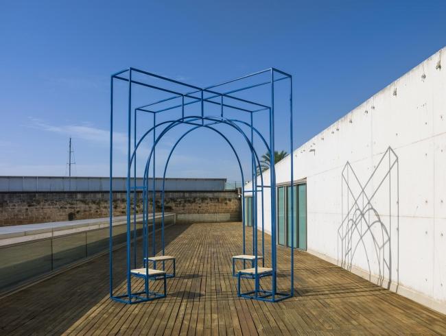 Una de las instalaciones del proyecto Invisible — Cortesía de Es Baluard Museu d'Art Modern i Contemporani de Palma