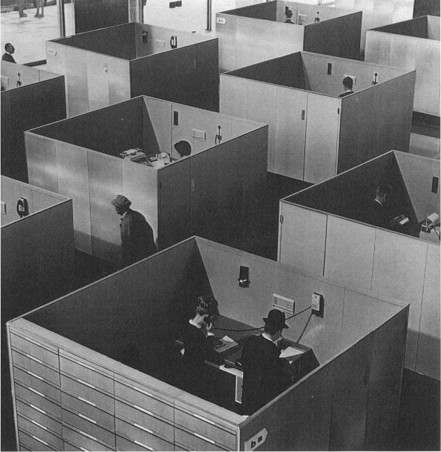 Jacques Tati, Playtime, 1967 (still) Cortesía de NoguerasBlanchard
