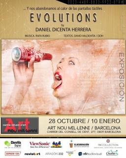 Daniel Dicenta Herrera. Evolutions