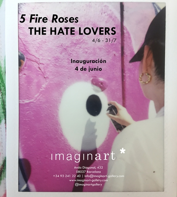5 Fire Roses