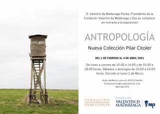 Antropología. Nueva Colección Pilar Citoler