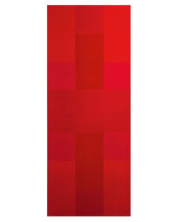 Ad Reinhardt, Abstract Painting, Red [Pintura abstracta, Rojo], 1952. Acrílico sobre lienzo, 127 × 50,8 cm. Addison Gallery of American Art, Phillips Academy, Andover, Massachusetts, donación de Frank Stella (Phillips Accademy, 1954), Addison Art Drive (1