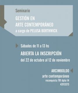 Gestión en arte contemporáneo