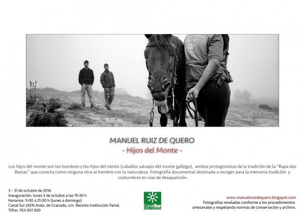 Hijos del Monte. Manuel Ruiz de Quero