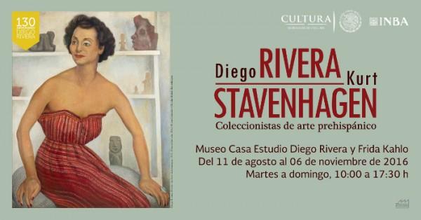 Diego Rivera y Kurt Stavenhagen, Coleccionistas de arte prehispánico