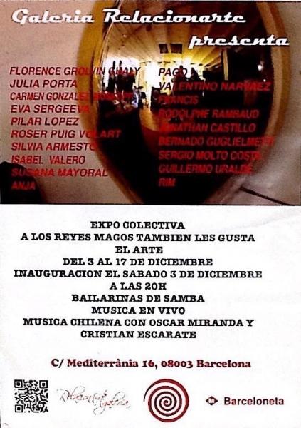 Invitación del evento Expo/ colectiva