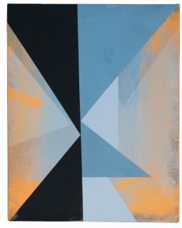 Jaime Gili, a293 ATINHAR, 2016, 40 x 30 cm, Acrylic on French synthetic canvas