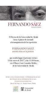 Fernando Sáez. Setenta años en la pintura