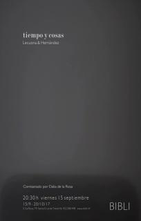 Tiempo y cosas. Lecuona & Hernández