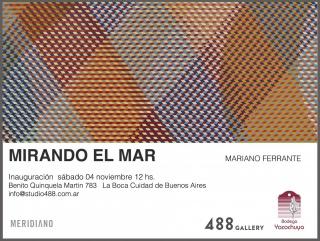 MIRANDO EL MAR. Imagen cortesía 488 Gallery