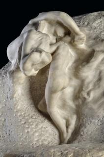 La Tierra y la Luna, 1901-1904. Mármol.(Fragmento)B. Imagen cortesía Museo Nacional de Bellas Artes