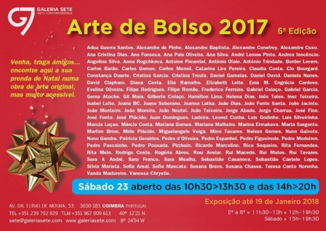 Arte de Bolso 2017. 6ª Edição