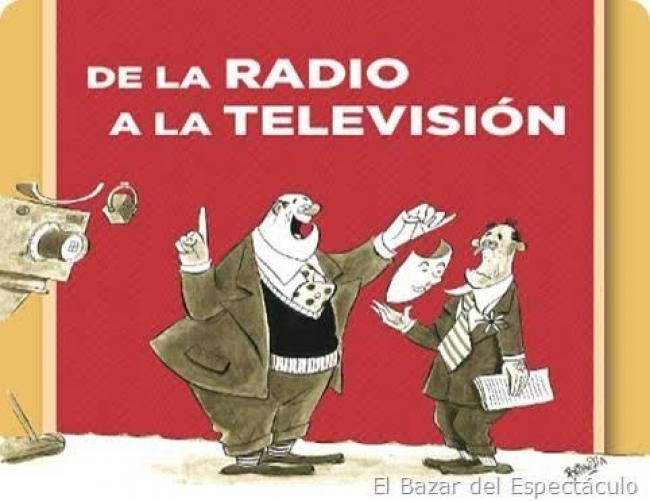 DE LA RADIO A LA TELEVISIÓN. Imagen cortesía Museo del dibujo