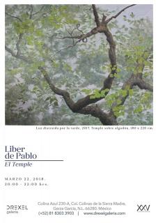 El Temple - Exposición de Liber de Pablo - Cortesía de la galería