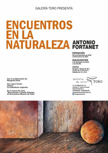 Antonio Fortanet. Encuentros en la naturaleza