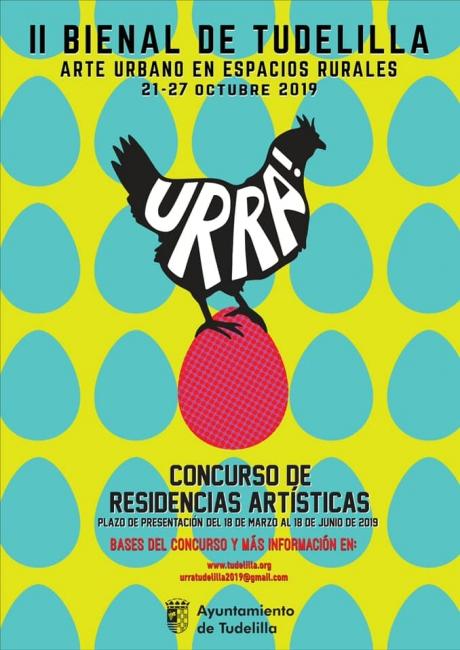 II Bienal de Tudelilla - Arte Urbano en Espacios Rurales