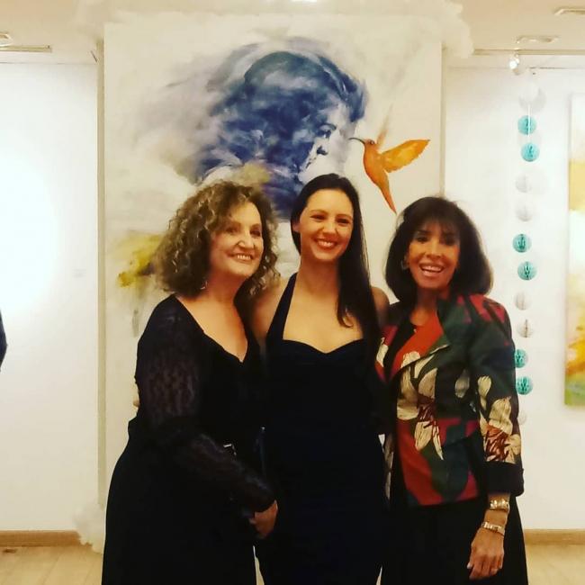 Adriana Garibaldi, Juliane Mai e Carla Mourão