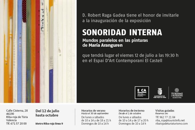 Sonoridad Interna. Mundos paralelos en las pinturas de María Aranguren