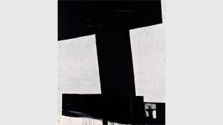 """Miguel Ángel Campano. Sin título 4, 1991. Óleo sobre lienzo, 195 x 168 cm. Colección """"la Caixa"""". Arte contemporáneo — Cortesía del Museo Reina Sofía"""