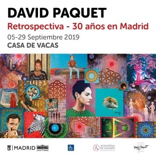 """Retrospectiva, 30 años en Madrid"" de David Paquet"