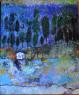 Margarita Gámez. Homenaje a la isla del silencio, 50x61 cm. — Cortesía de Abartium galería de arte