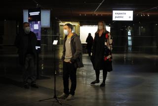 Mario Paniego. Espacio públic(itari)o — Cortesía de Azkuna Zentroa - Alhóndiga Bilbao