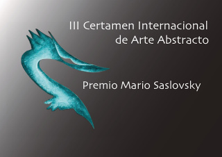 III Certamen Internacional de Pintura Abstracta Mario Saslovsky para 2021